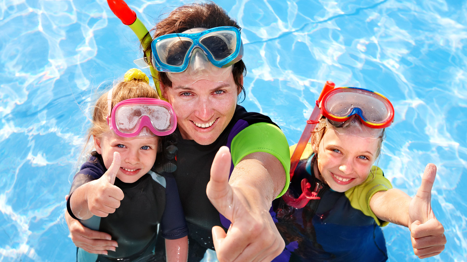 Padi bubble maker diving courses for children in Oludeniz Turkey