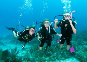 kid divers in Oludeniz Turkey