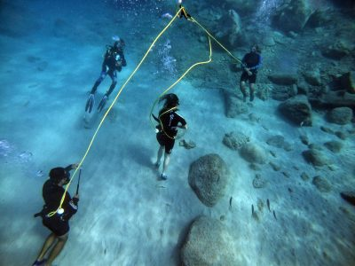 Peter diving system Dive without a tank on your back